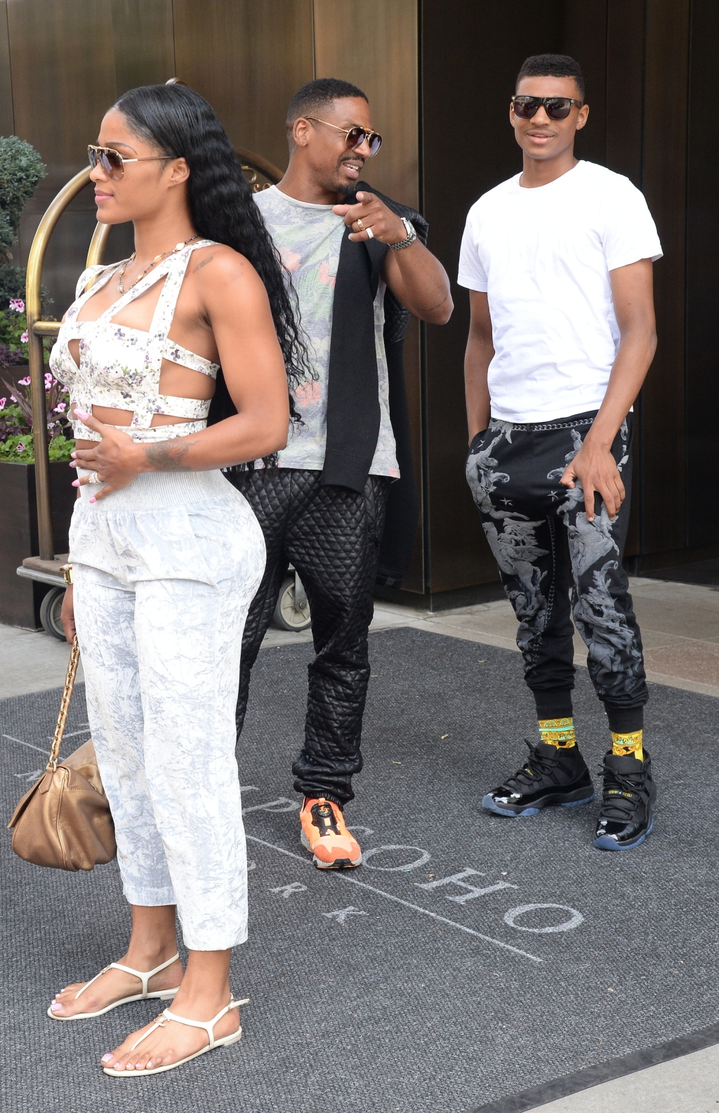 Joseline Hernandez and Stevie J out and about in NYC