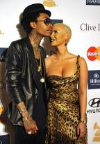 Wiz Khalifa & Amber Rose Are Reportedly On Better Terms After He Pens Touching Song For Her