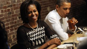 Obamas Dine With Campaign Contest Winners