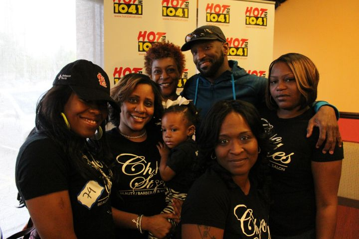 Rickey Smiley Buys Breakfast For St. Louis