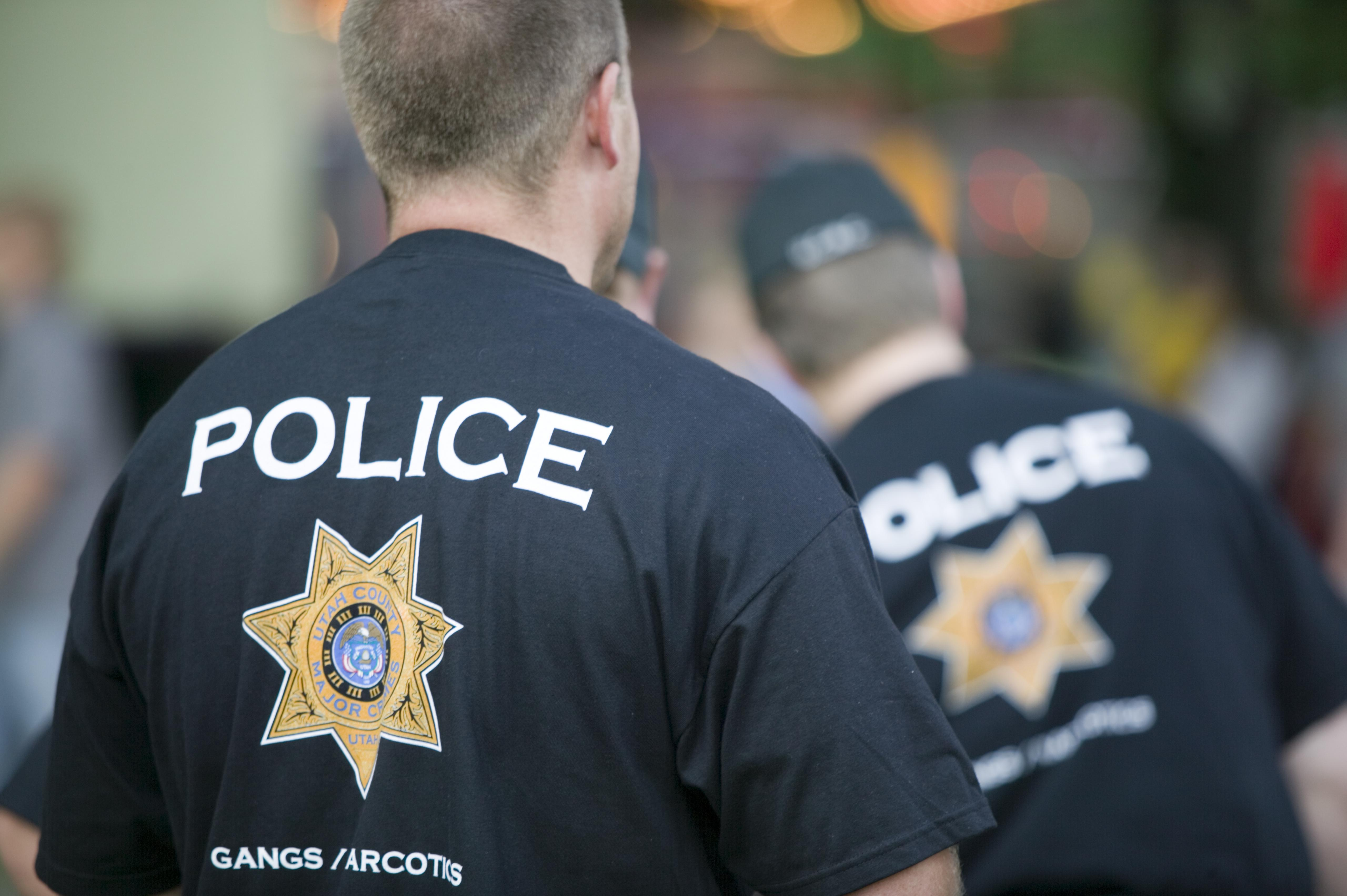 Two gang / narcotics police officers
