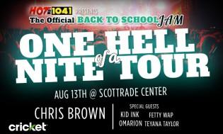 Chris Brown Back to School Jam