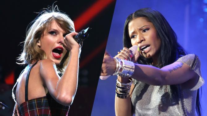 Nicki Minaj vs. Taylor Swift