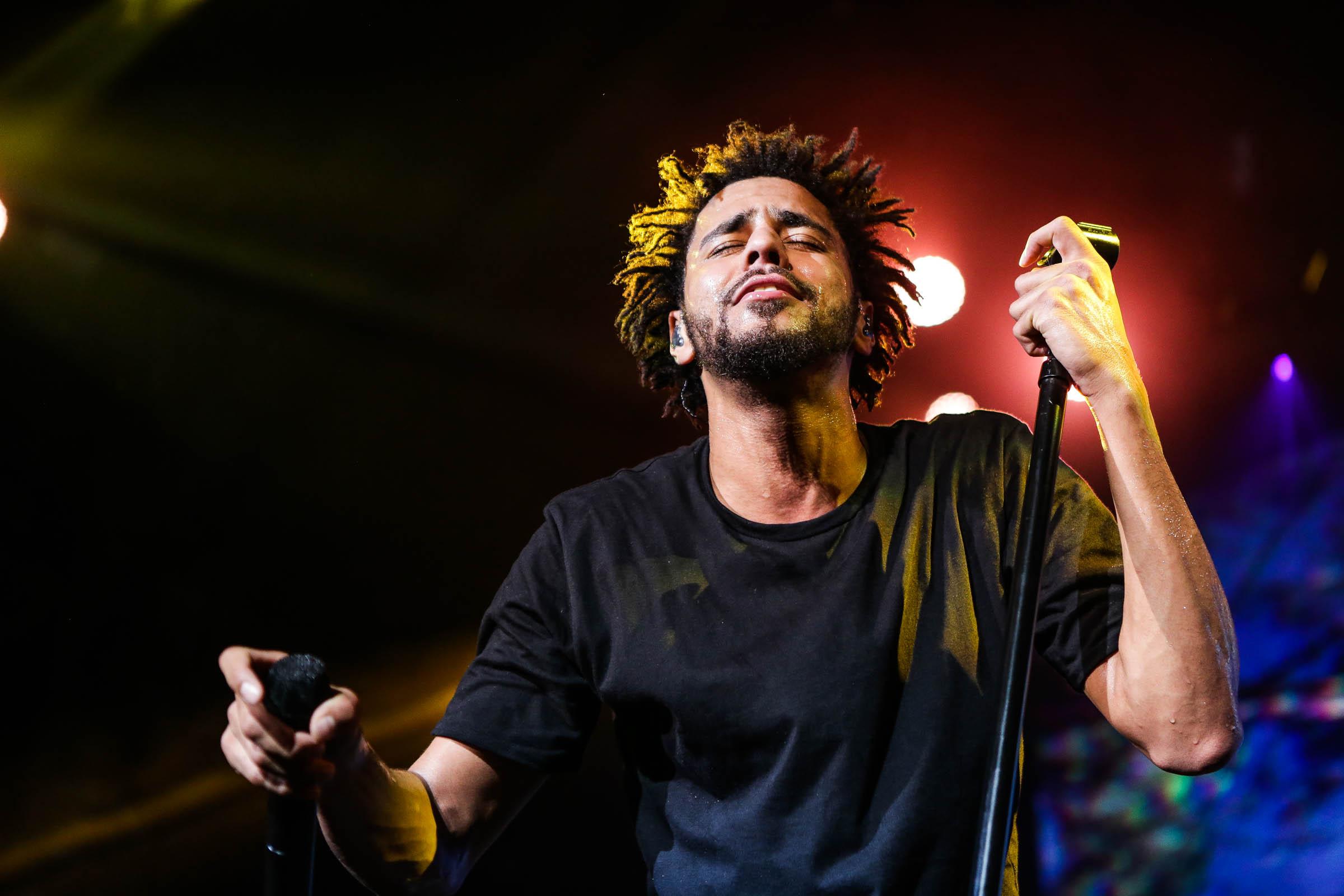 J Cole At Super Jam 2015