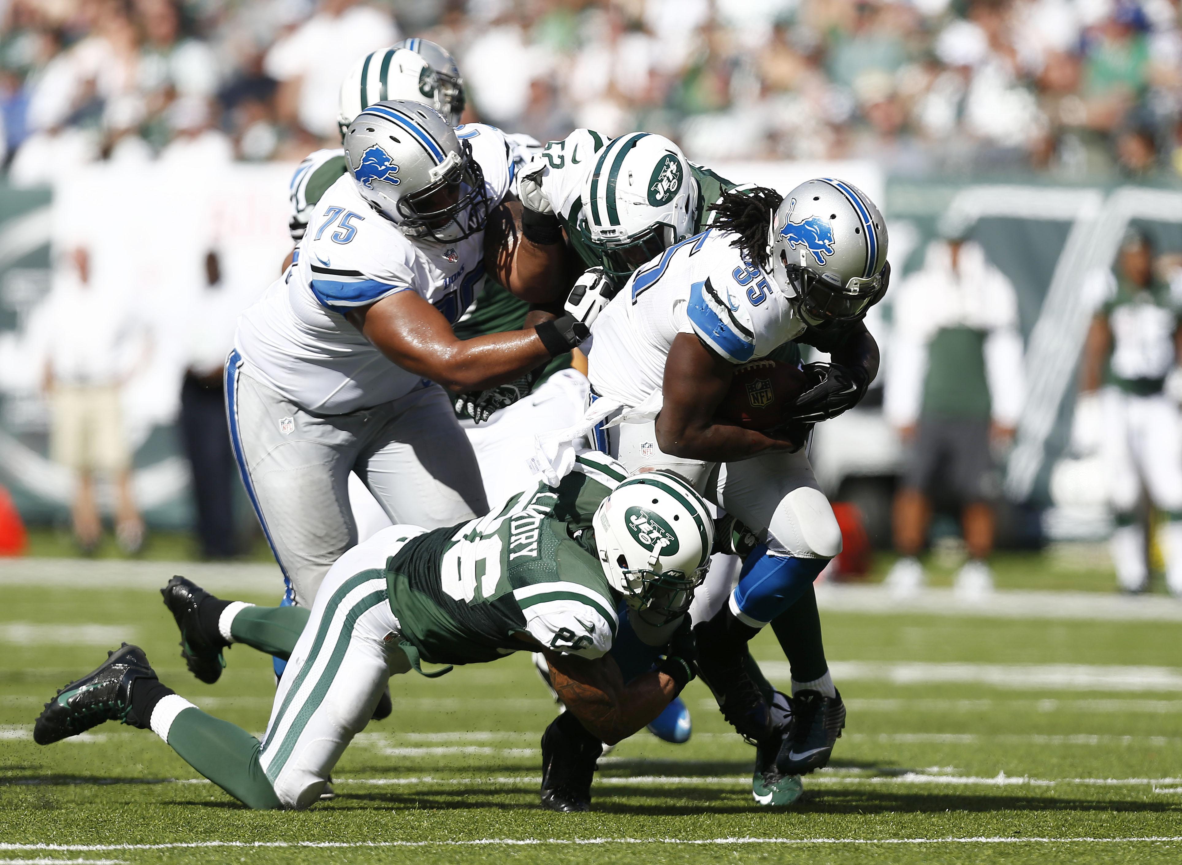 Detroit Lions v New York Jets