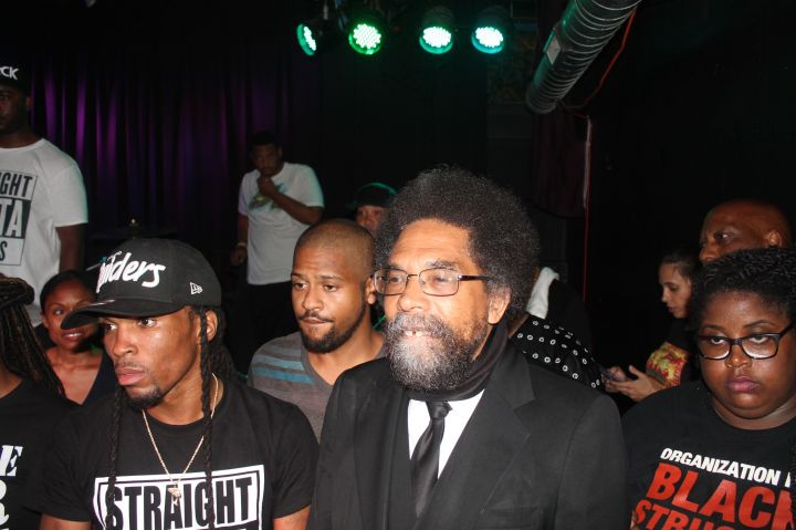 Cornell West At Chosen For Change Michael Brown Concert