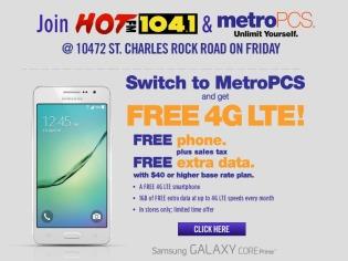 MetroPCS - St. Charles Rock