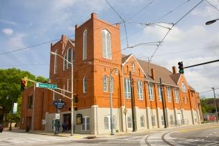 Red-brick church building, Atlanta