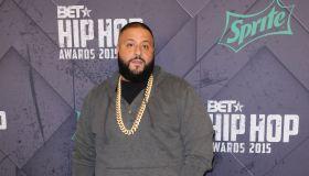 DJ Khaled at the 2015 BET Hip-Hop Awards