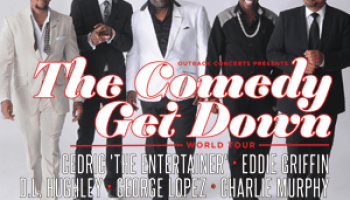 Comedy Get Down Flyer