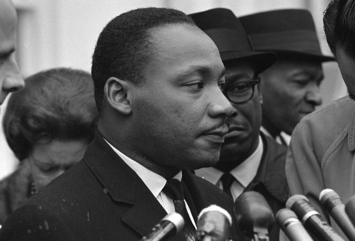Martin Luther King, Jr. (1929-1968) was an American Baptist minister, activist, humanitarian and leader in the African-American Civil Rights Movement.