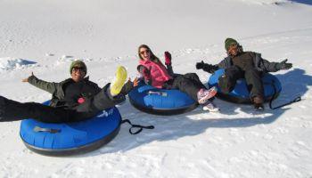 Snowboarding at Hawks Nest