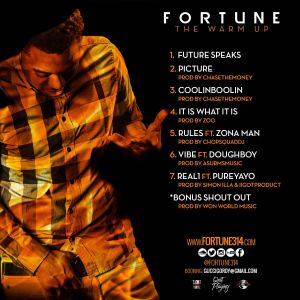 """Fortune """"The Warm Up"""""""