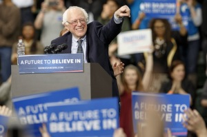 Bernie Sanders Holds Rally At Chicago State University