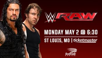 WWE Monday Night RAW in St. Louis