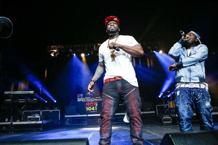 50 Cent Super Jam 2016