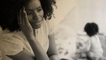 Black Mother Stressed
