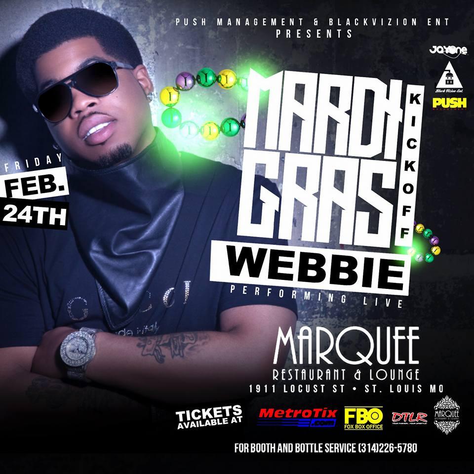 Lil Webbie Mardi Gras