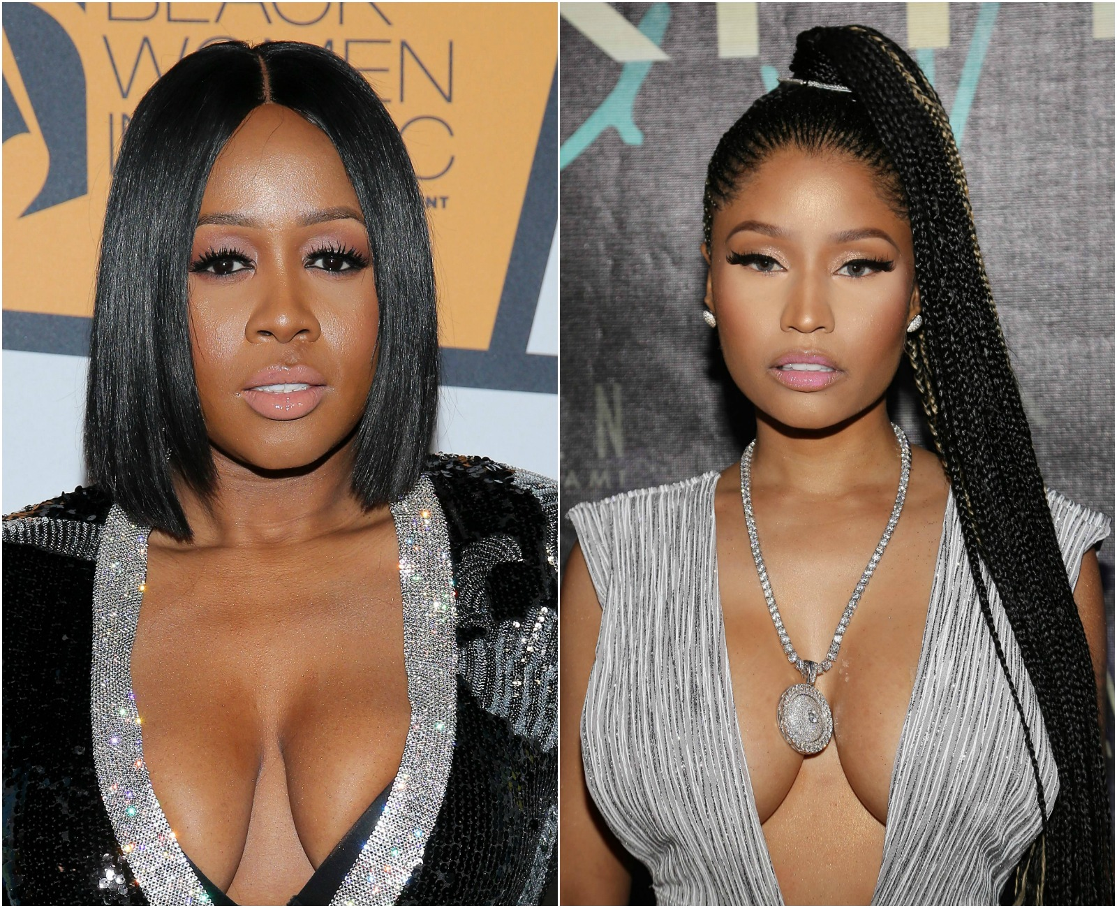 Remy Ma/ Nicki Minaj Collage