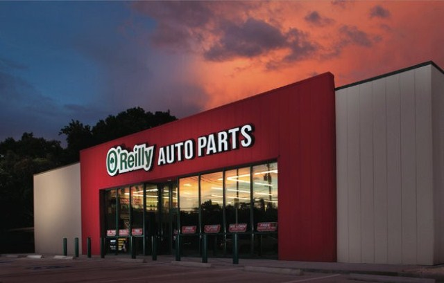 O'Reilly Auto Parts Front