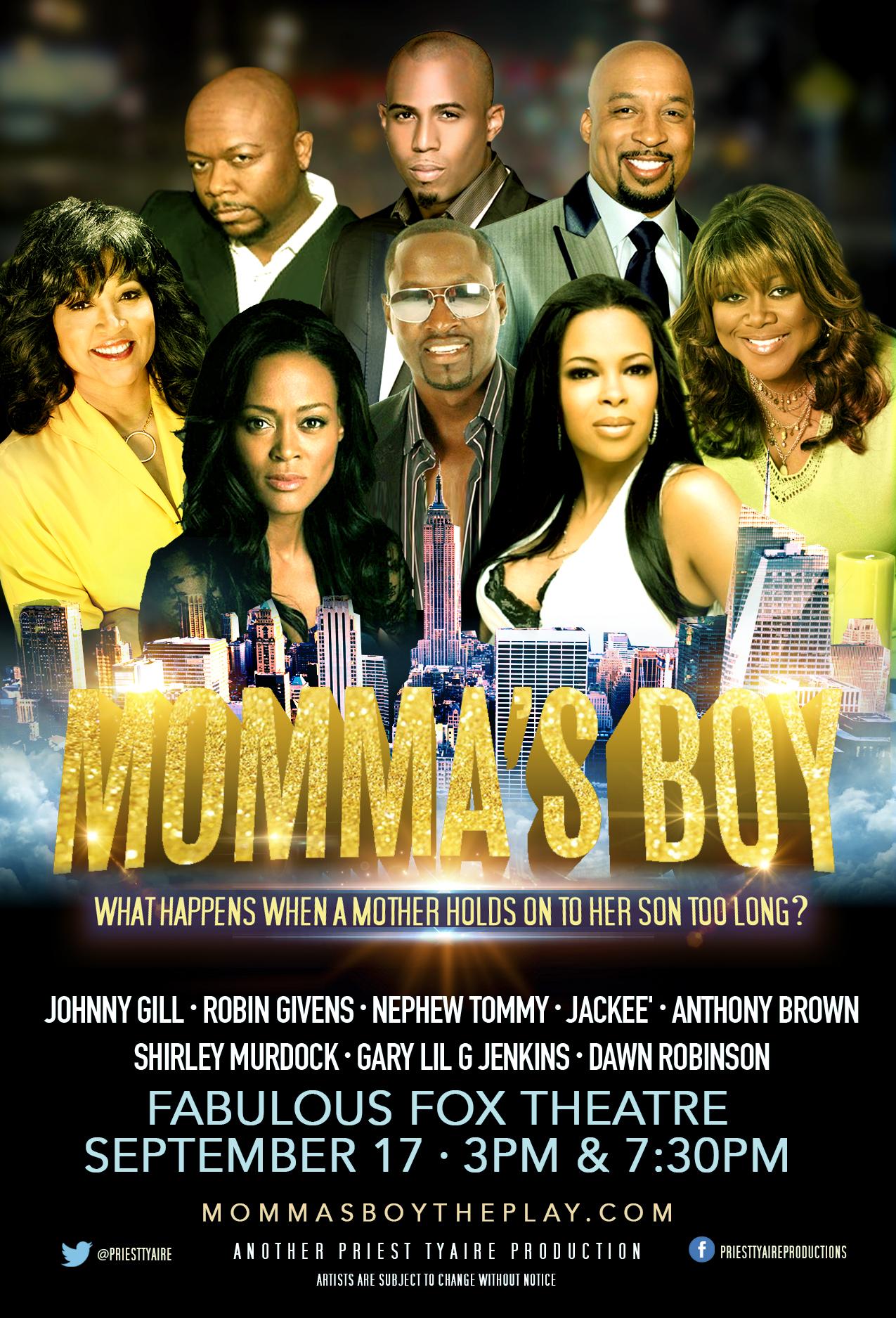 Mommas Boy The Play