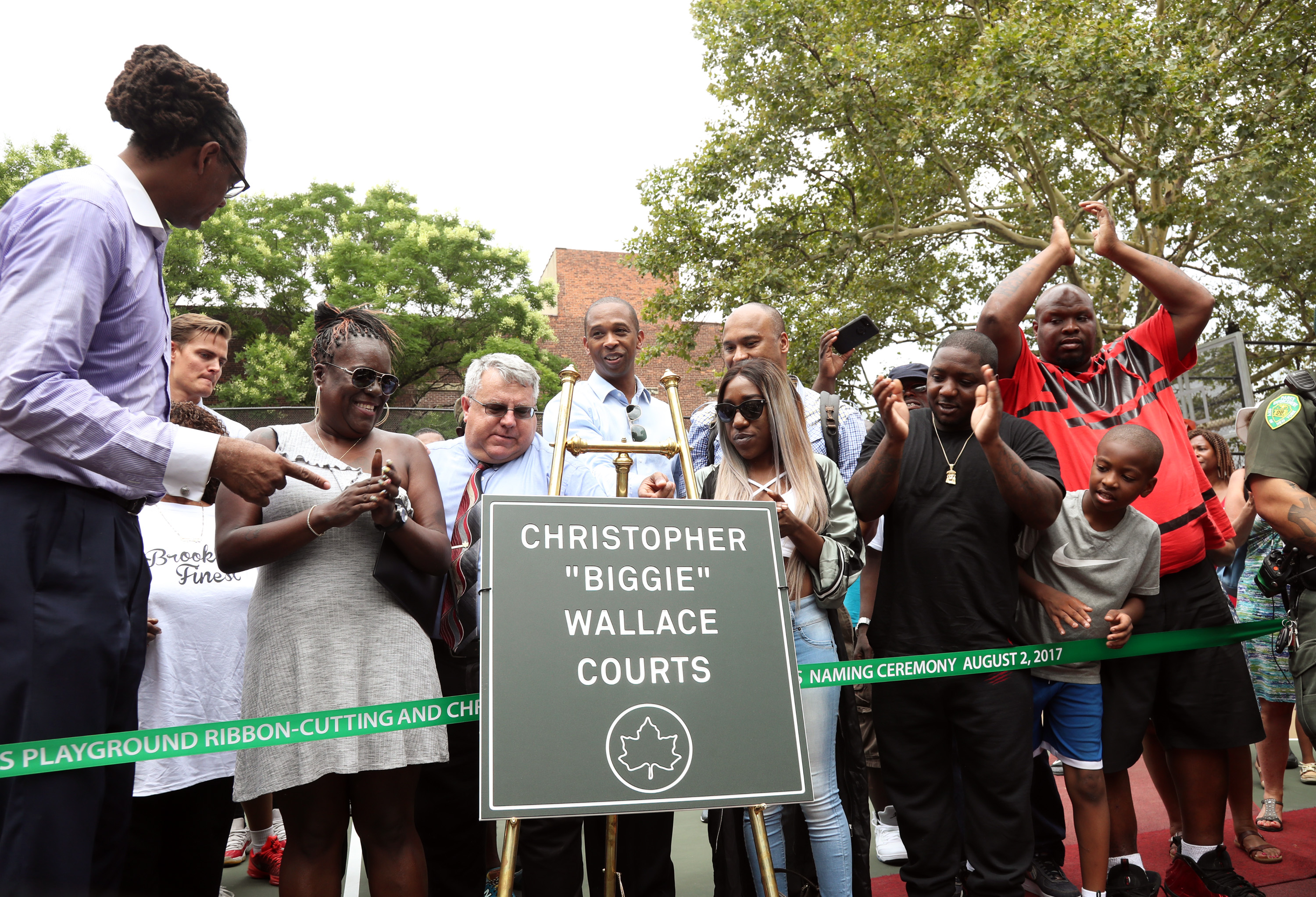 Crispus Attucks Playground Ribbon Cutting Ceremony