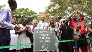 Crispus Attucks Playground Ribbon Cutting Ceremony