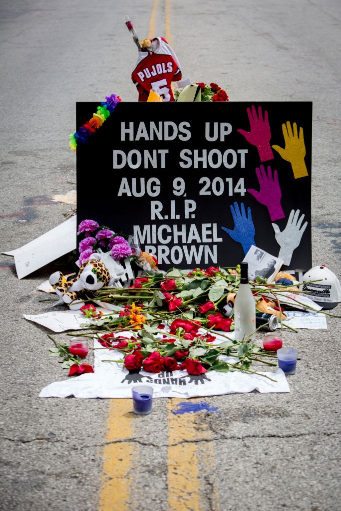 USA - Protests in Ferguson