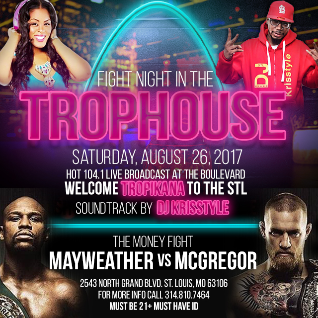 Fight Night at Trophouse at Boulevard