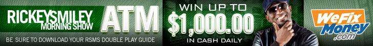 Rickey Smiley ATM Contest