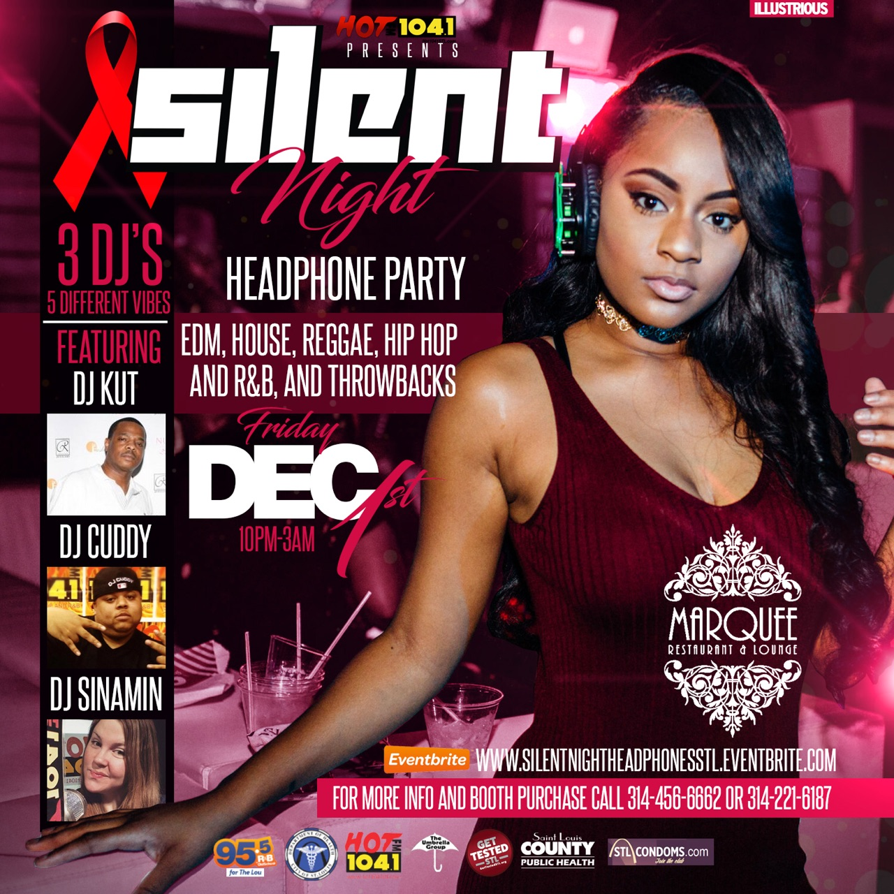 World Aids Day Silent Party