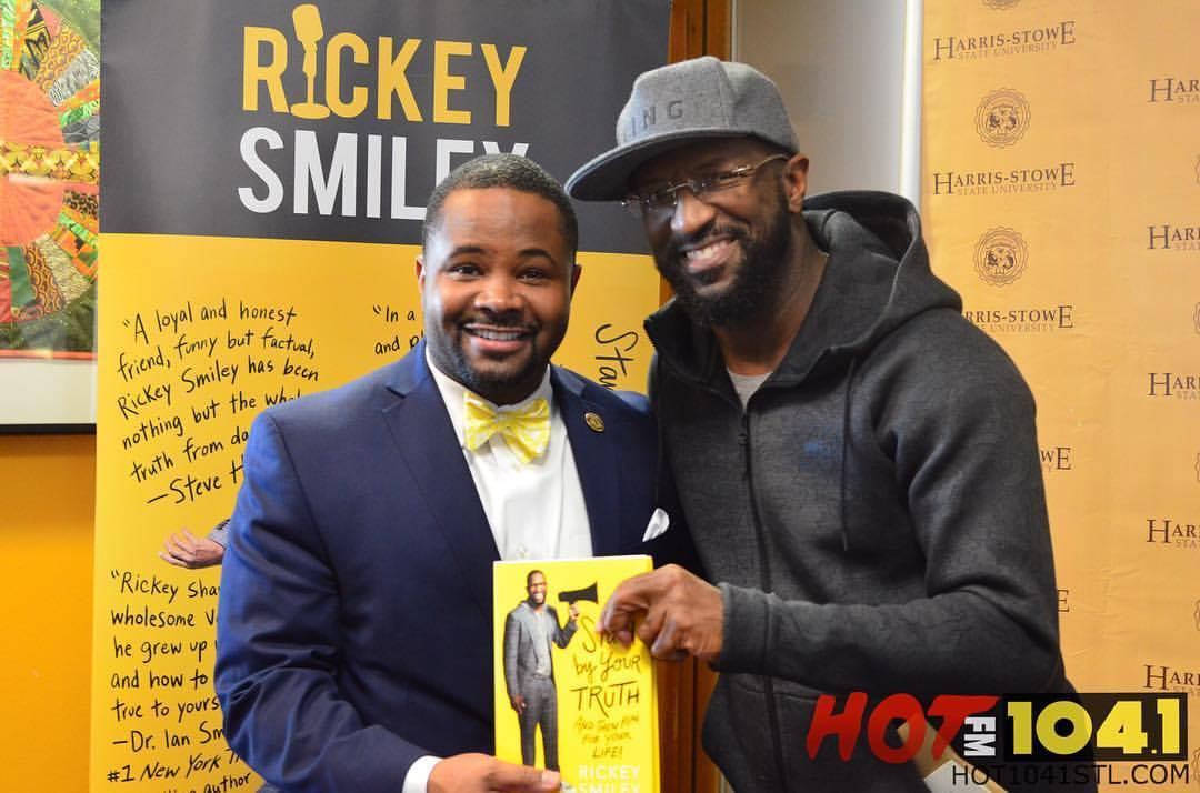"Rickey Smiley St. Louis ""Stand by Your Truth: And Then Run for Your Life!"" Book Signing"