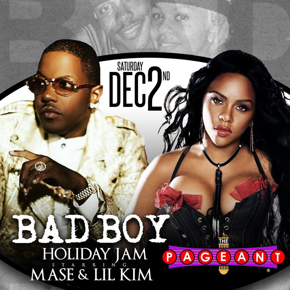Mase and Lil Kim at Pageant