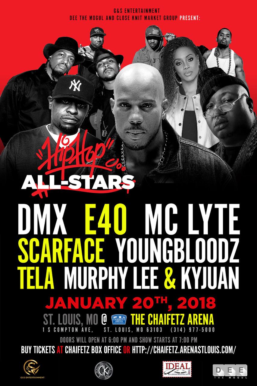 All Stars of Hip Hop STL