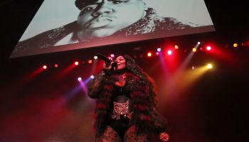 Lil Kim , Mase, and Tiffany Foxx at The Pageant