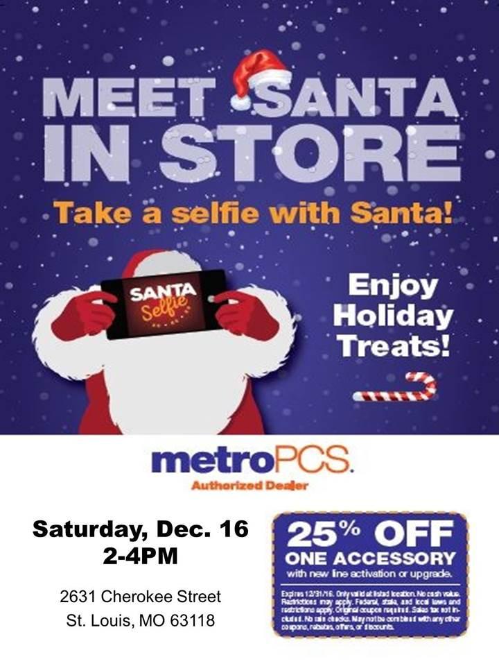 Metro PCS Meet Santa
