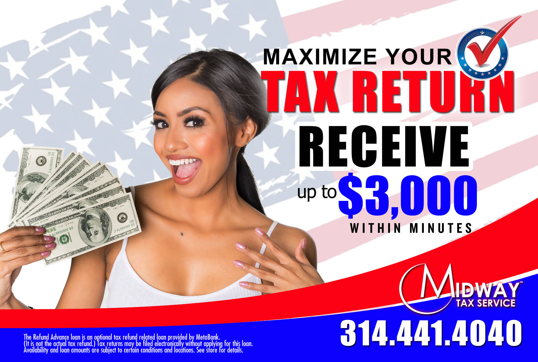 Midway Tax Services STL Back