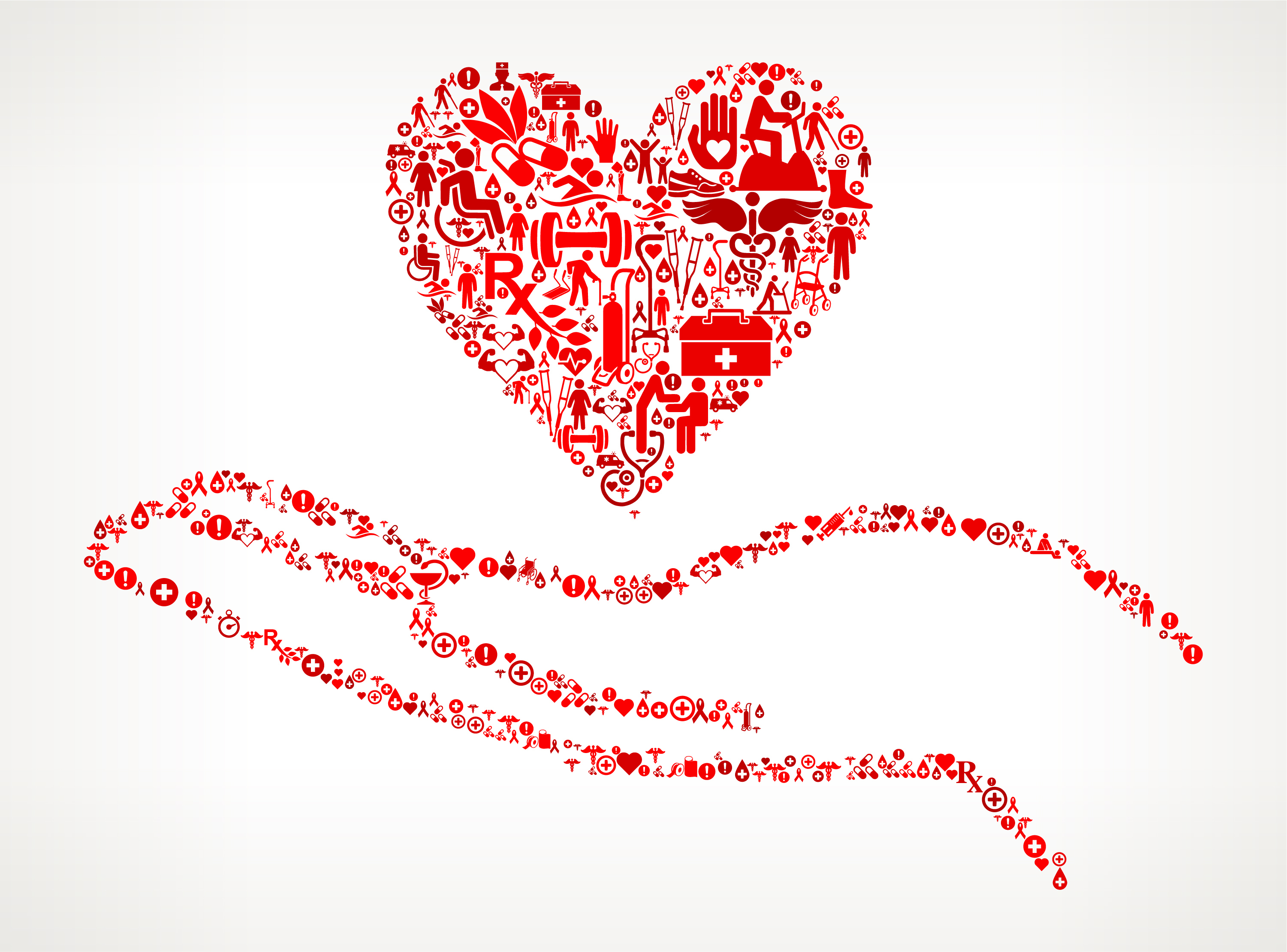 Holding Heart Medical Rehabilitation Physical Therapy