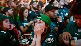 Philadelphia Eagles Fans Celebrate Win In Super Bowl LII Over New England Patriots