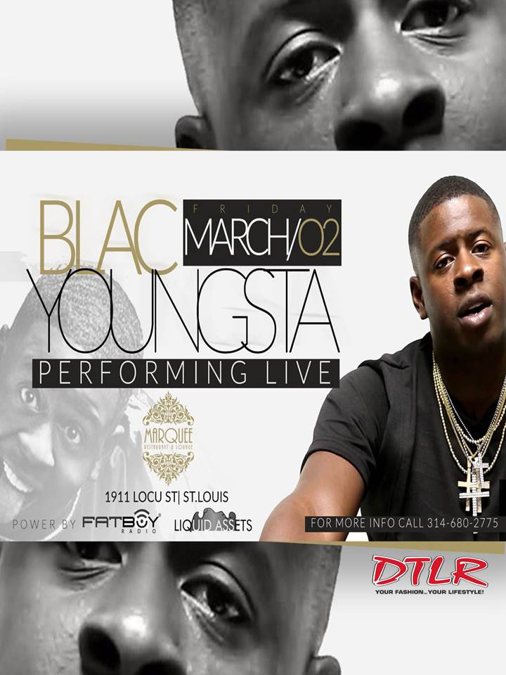 Blacc Youngsta In STL