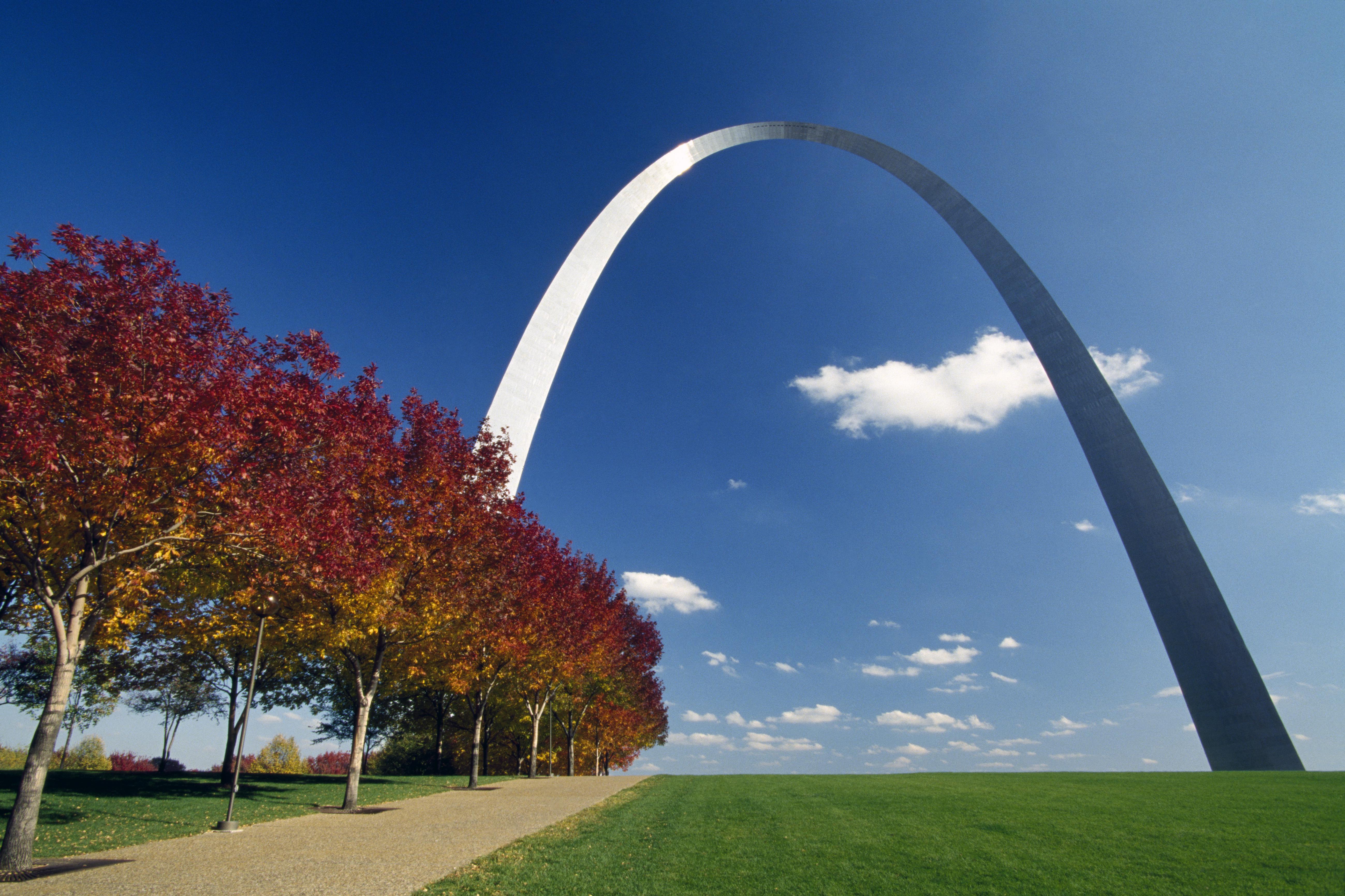 Gateway Arch in St Louis Missouri