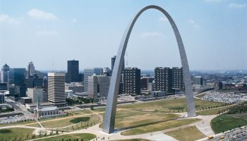 The Gateway Arch in St. Louis