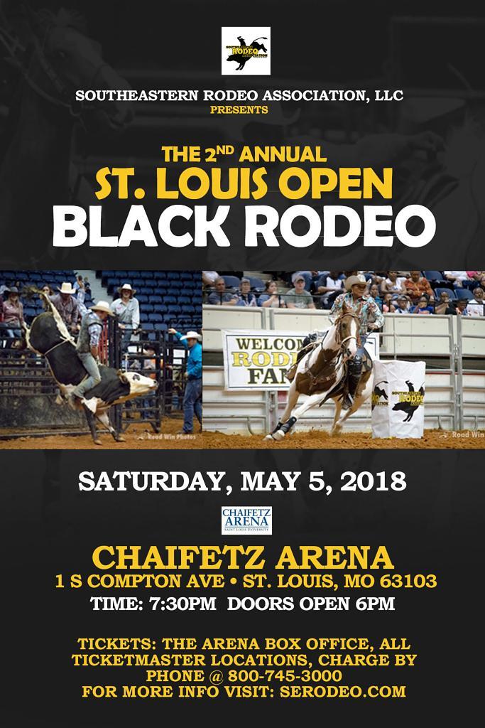 St. Louis Open Black Rodeo