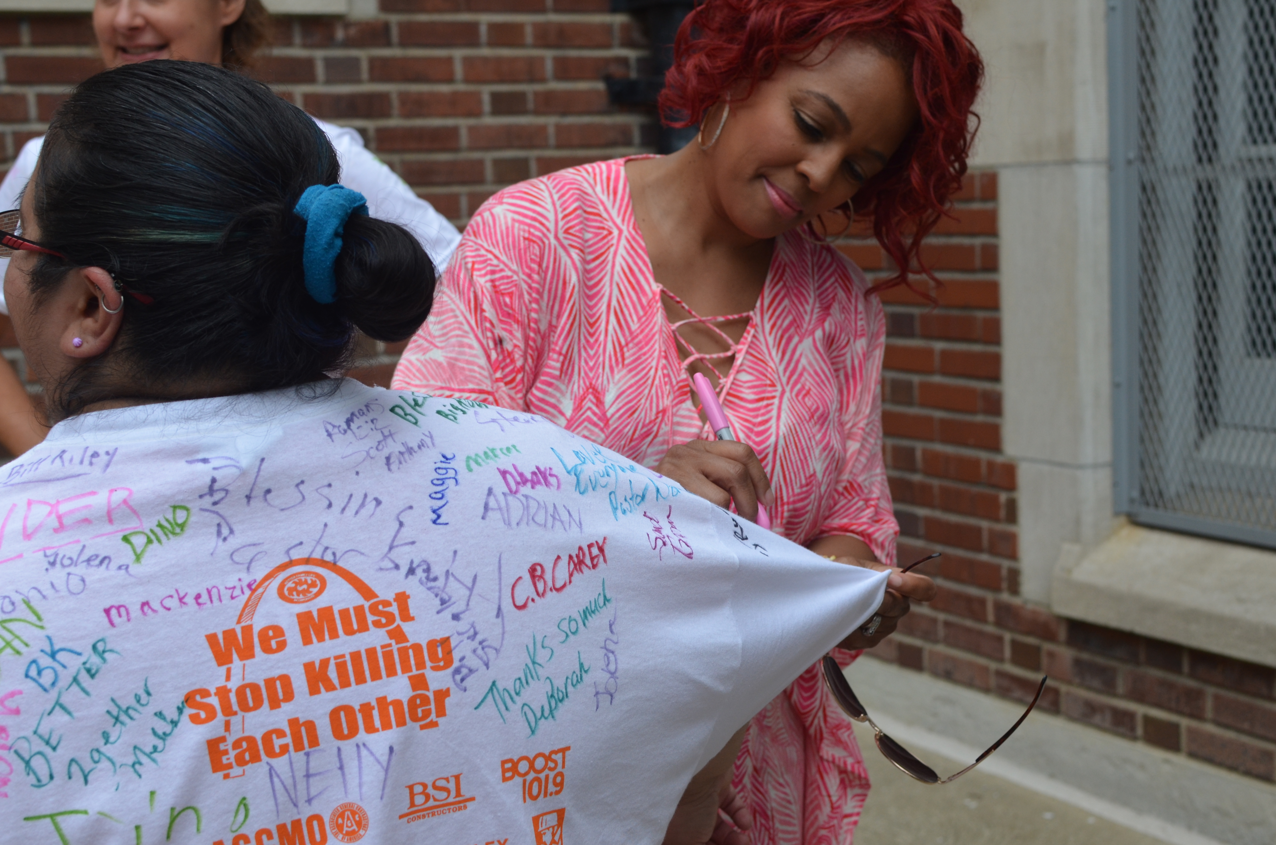 Kim Fields and Hosea Chanchez join Better Family Life Community Clean Up