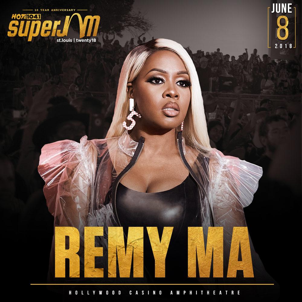 Remy Ma SuperJam X