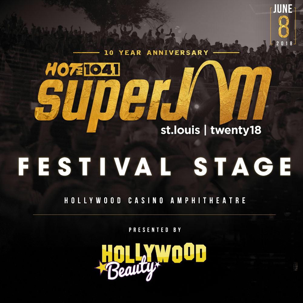 SuperJam X Festival Stage