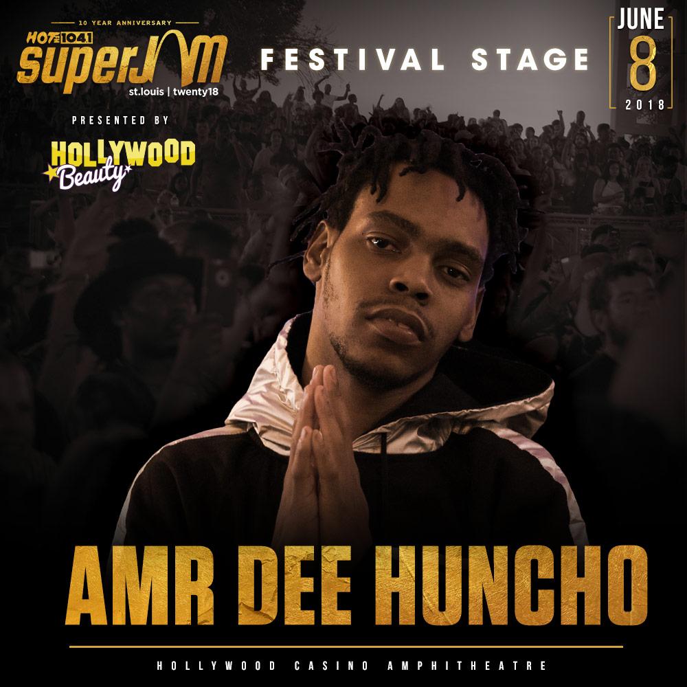 AMR Dee Huncho Super Jam Festival Stage
