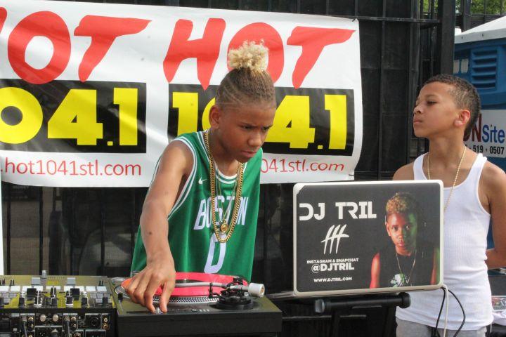 DJ Tril At Super Jam X