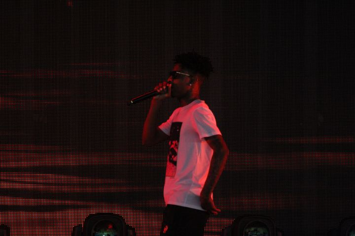 21 Savage At Super Jam X