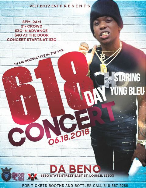 618 Day Concert at Da Beno